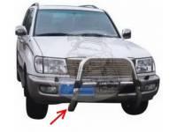 Дуга передняя (кенгурятник) TOYOTA LAND CRUISER 100 (1998-2007) HD249(FJ100-A003)