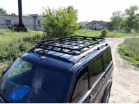 Багажник Скрытый Корзина крепление в водосток с сохранением рейлингов