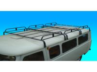 Багажник на УАЗ 452 трехсекционный (12опор)